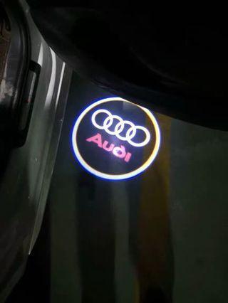 現貨 Audi 奧迪 LED 迎賓燈 車門燈 照地燈 鐳射燈 Q5 A4 A6 A3 Q3 A7 A5 Q7 A1 專用