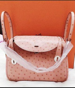 Hermes Lindy Ostrich Brand New