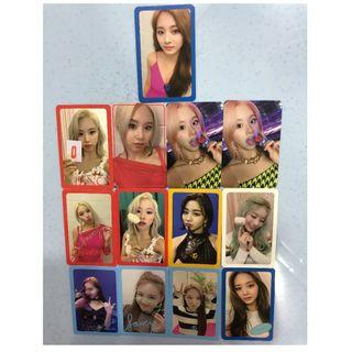 WTS twice photocards