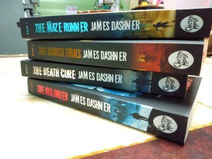 Maze Runner Series + 1 FREE BOOK