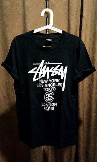 🔴 Stussy World Tour Black not Bape Zara Army