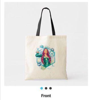 Mera Aquaman Canvas Tote Bag