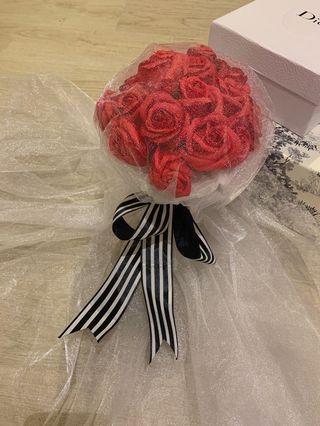 肥皂玫瑰花精品花