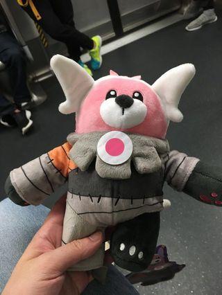 寵物小精靈 Pokémon 精靈寶可夢 正版 穿著熊毛公仔