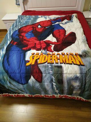 Comforter and mattress sheet