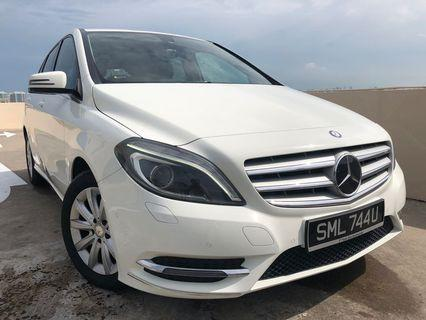 Mercedes-Benz B200 BlueEfficiency Chrome Package Auto