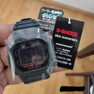 Casio G-Shock  GW-5035A-1JR 35th Anniversary Model  BIG BANG BLACK Limited