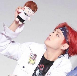 BTS's V (Taehyung) Mini Doll