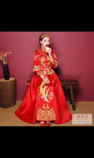 🚚 Chinese wedding dress