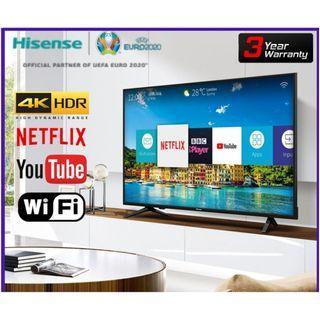 """Hisense 55"""" UHD Smart HDR LED TV"""