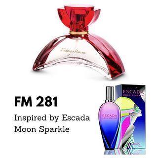 Parfum FM 281 Inspired By- Escada Moon Sparkle