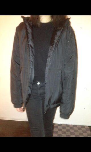 Black H&M Rain Jacket