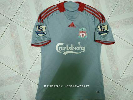 Liverpool Jersey away kit 2008/09