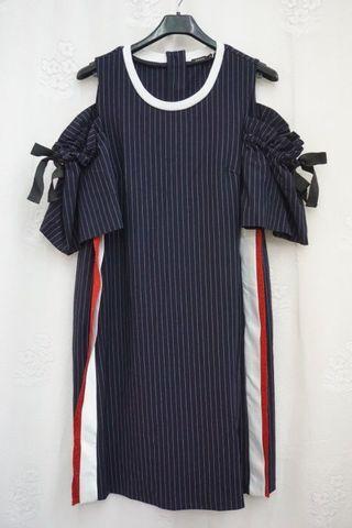 🚚 MOMA 時尚 顯瘦 連身洋裝(40