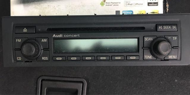 Audi CD player for car
