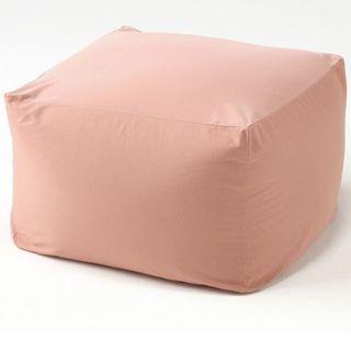 Muji Bean Bag Coral Pink (Body Fit Cushion)
