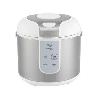 Buffalo Rice Cooker 5-cup, with stainless steel inner pot
