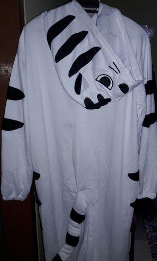 White tiger onesies
