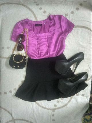 OL short sleeve blouse-preloved