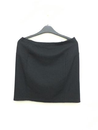 Black Mini Skirt Mango