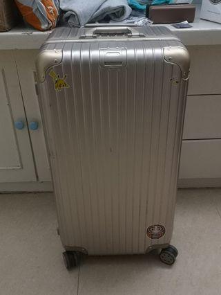 行李箱 32吋大箱 香檳金色 二手 9成新