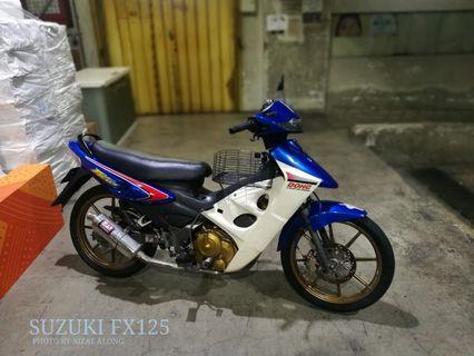 Motor Suzuki FX125 DOHC untuk dijual