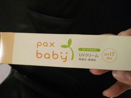 🚚 日本品牌 Pax Baby 嬰兒防曬霜*2