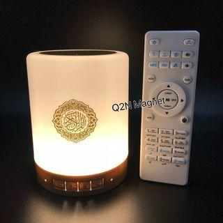 Touch lamp ,Quran speaker Mp3 player with night Light