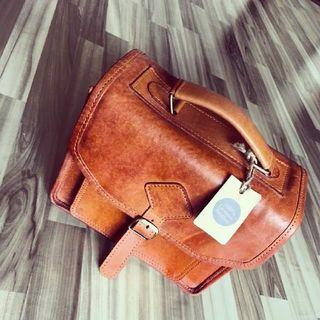 Leather Photographer Bag Exclusive
