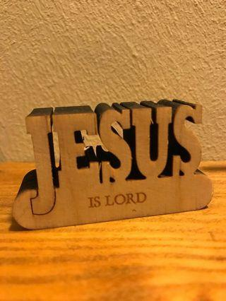 🚚 3D Die-Cut Display: Jesus is Lord
