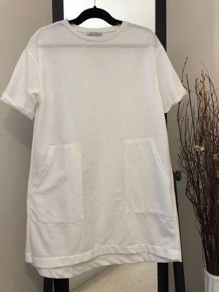 Zara Long T-shirt Dress