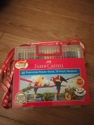(Postage Included) Faber Castell 48 Water Colour Pencils