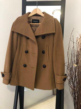 Babaton tan coat