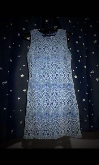 Love & Bravery Shift Dress // Blue