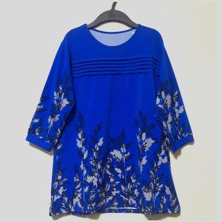BNWT-Layered Floral Blouse. Size M. Brand new with tag in packaging.