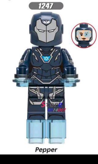 LEGO Inspired Pepper Potts / Rescue