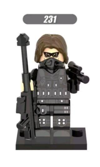 🚚 Lego inspired Winter Soldier
