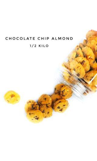 Kuih Raya - Chocolate Chips Almond
