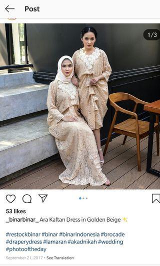 Ara Kaftan Dress by Binar (Medium)