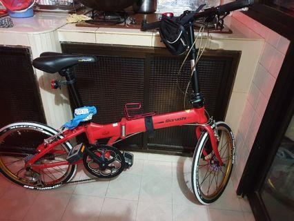 "maruishi folding bike 20"" tires"