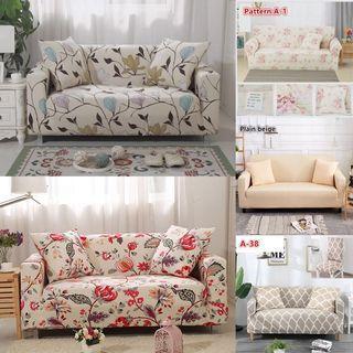 Sofa Cover/ stretchable sofa cover/ sofa bed cover