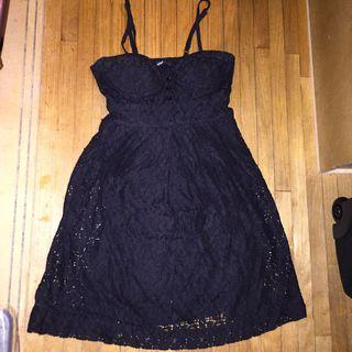 Bluenotes black dress szS