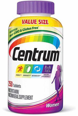 (250 count!) Centrum Women Multivitamin/Multimineral Supplement Tablet