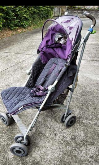 Preloved Maclaren Techno XLR Umbrella Stroller