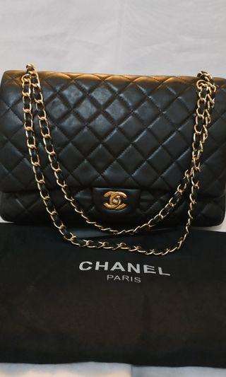 Tas Preloved Chanel Mirror hitam