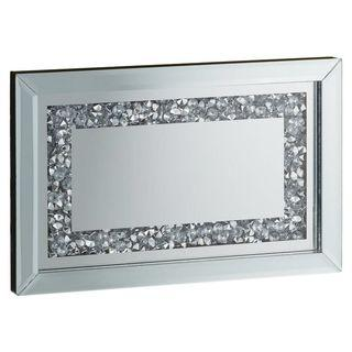 Diamante mirrored tray