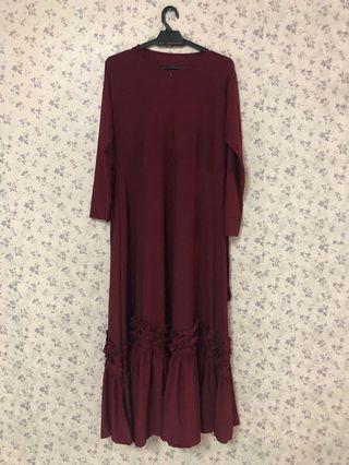 Long Top Dress Muslimah