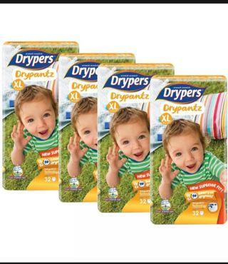 Drypers Carton Bundle Deal! 2 @ $76 only!