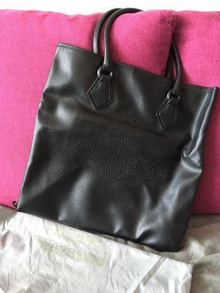 Vivienne Westwood leather tote back