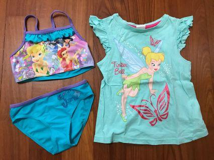 🚚 Tinkerbell Girl Bundle 3-4yo